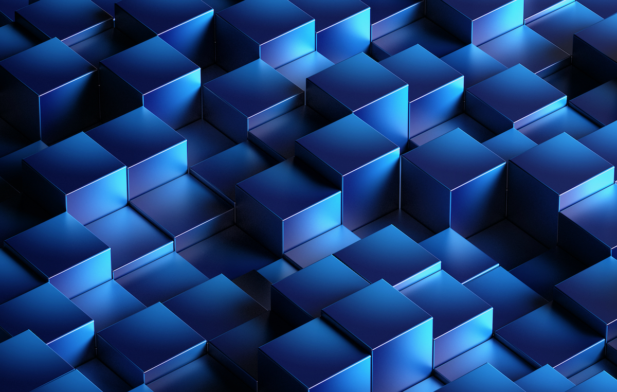 DLT Versus Blockchain Blue Blocks
