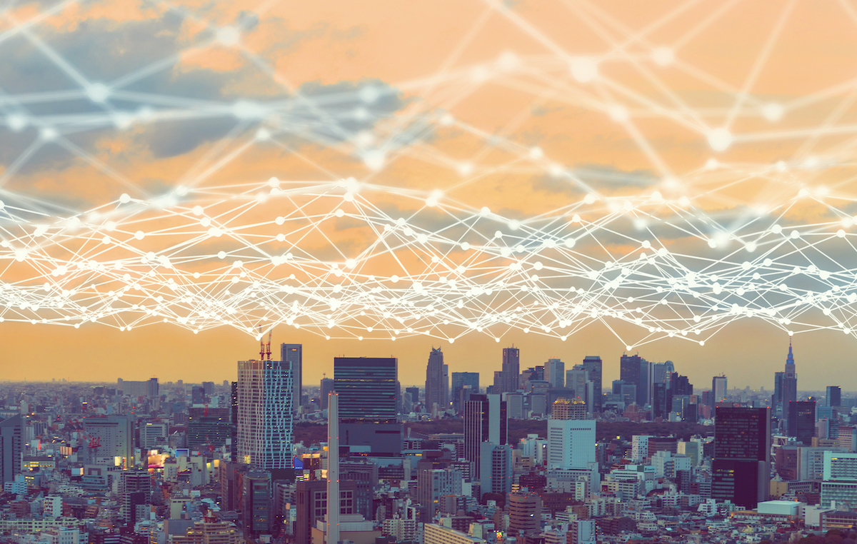 Blockchain, IoT, And AI Across A City Landscape